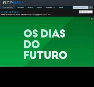 Antena 1, Os dias do Futuro